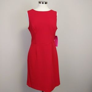 Betsy Johnson Cutout Back Scuba Crepe Dress Sz 12